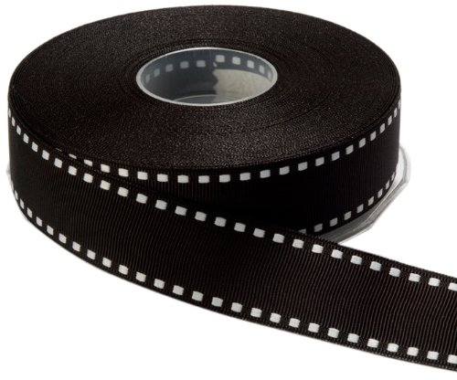 (May Arts 1-Inch Wide Ribbon, Black)