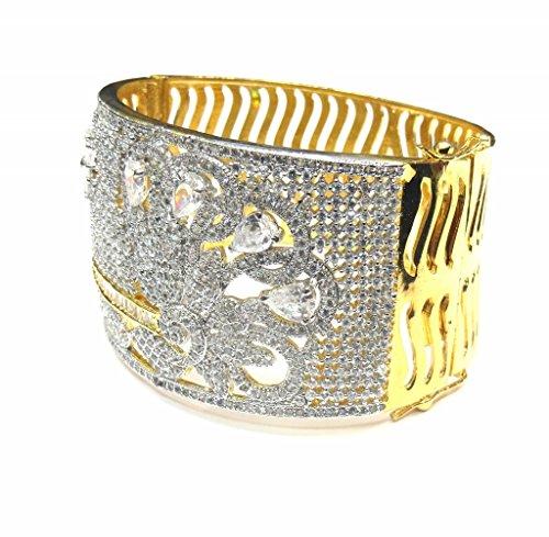 Jewelshingar Jewellery Diamond Looking Free Size Bracelet For Girls ( 14740-bcad ) by Jewelshingar