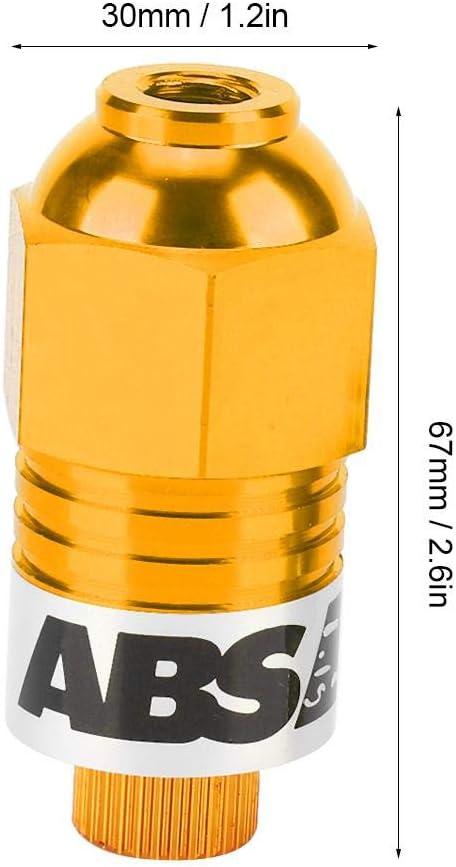 Qii lu Motorcycle Modification ABS Braking System Screw,10mm Anti-locked Braking System Screw Brake Pump Red