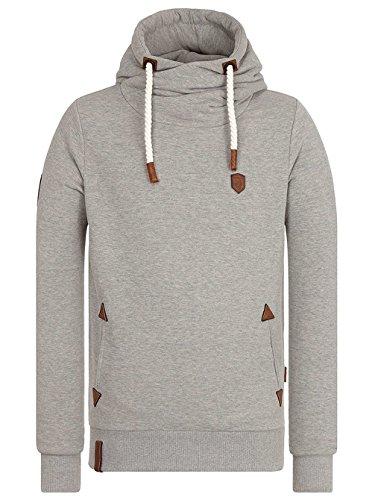 Melange Smoke Naketano Gun Sweatshirt Herren Grey CnOq6S