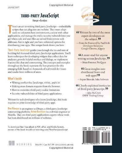 Third-Party JavaScript by Manning Publications