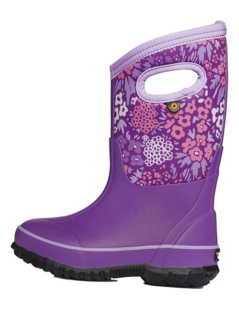 Bogs Kids Baby Girl's Classic Big NW Garden (Toddler/Little Kid/Big Kid)