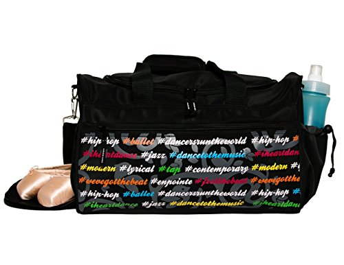 ashtags Gear Duffel Bag for Dancers (Jazz Bag)