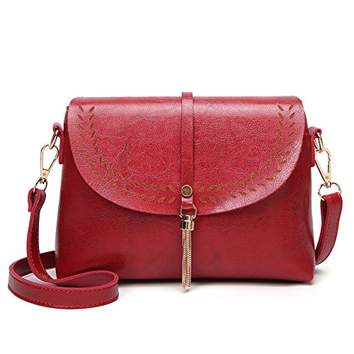 Hollow Red Bag Asdyy Tide Fashion Bag Crossbody Tassel Women Bag Shoulder Korean Bag S0qFfHB0
