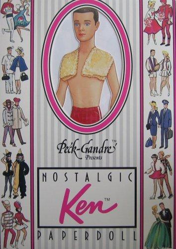 Nostalgic Barbie Paper Doll by Peck-Gandre Collection - Brunette (1989) by Peck-Gandre Presents Nostalgic Barbie Paper Dolls
