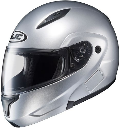 HJC Helmets CL-MAX 2 Helmet (Light Silver, XXXX-Large)