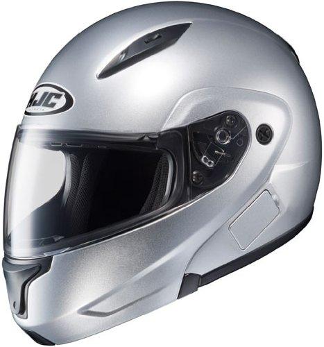 HJC Helmets CL-MAX 2 Helmet (Light Silver, XX-Large)