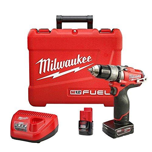 "Milwaukee 2404-22 M12 FUEL™ 1/2"" Hammer Drill/Driver Kit"