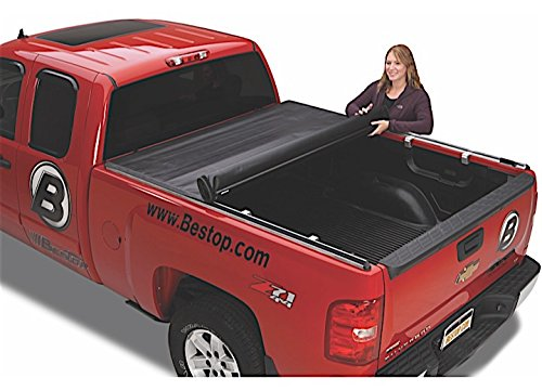 (Bestop 19240-01 EZ-Roll Tonneau Cover for 2009-2010 Dodge Ram 1500 & 2011-2018 Ram 1500 & 2010-2014 2500/3500 (except Rambox), 6.3')