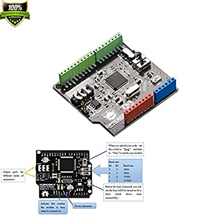 Amazon com: DFROBOT Speech Synthesis Shield For Arduino Chinese