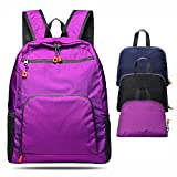 Moseffo Lightweight Packable Backpack for Travel Hiking Unisex Durable Waterproof Daypack