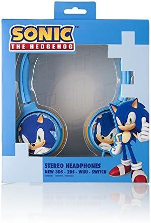 Indeca-Auricular Cascos para Consola Nintendo Switch de Sonic ...