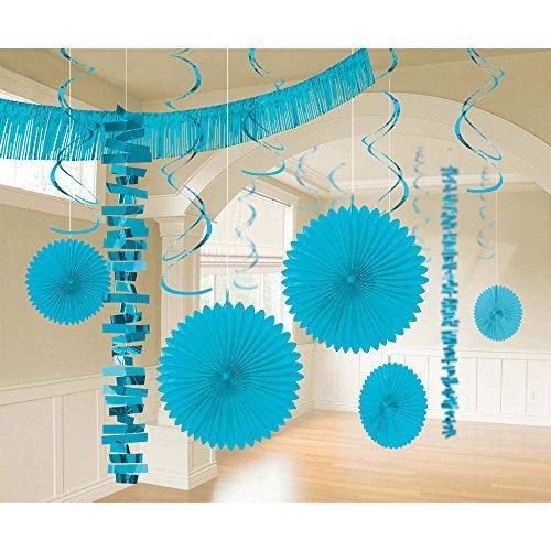 Caribbean Blue Decorating Kit 18pc