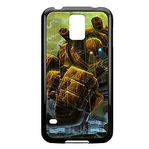 Blitzcrank-004 League of Legends LoL case cover Iphone 5/5S - Plastic Black