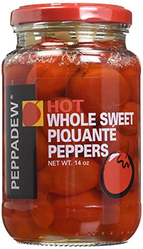 (Peppadew HOT Whole Sweet Piquante Peppers - 14 Oz Jar)