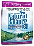 Natural Balance Dry Dog Food, Grain Free Limited Ingredient Diet Venison and Sweet Potato Recipe, 15 Pound Bag, My Pet Supplies