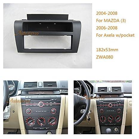 Mazda Miata 2006-2008 Car Stereo Single or Double Din Fascia Panel FP-26-05