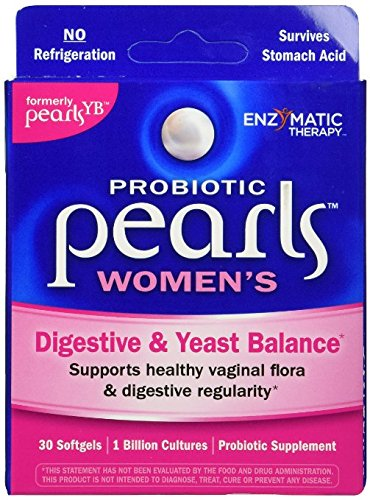 Enzymatic Therapy Pearls yeast 30