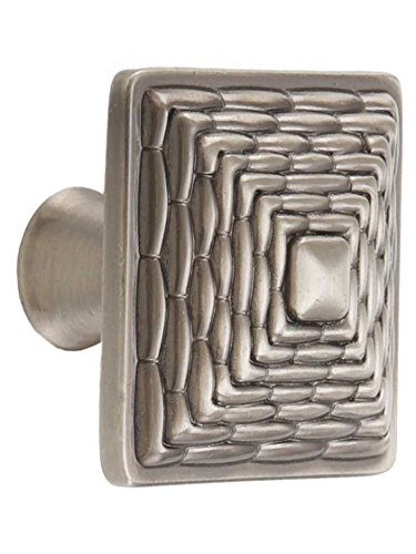 Mandalay Square Knob Finish: Brushed Nickel by Atlas Homewares