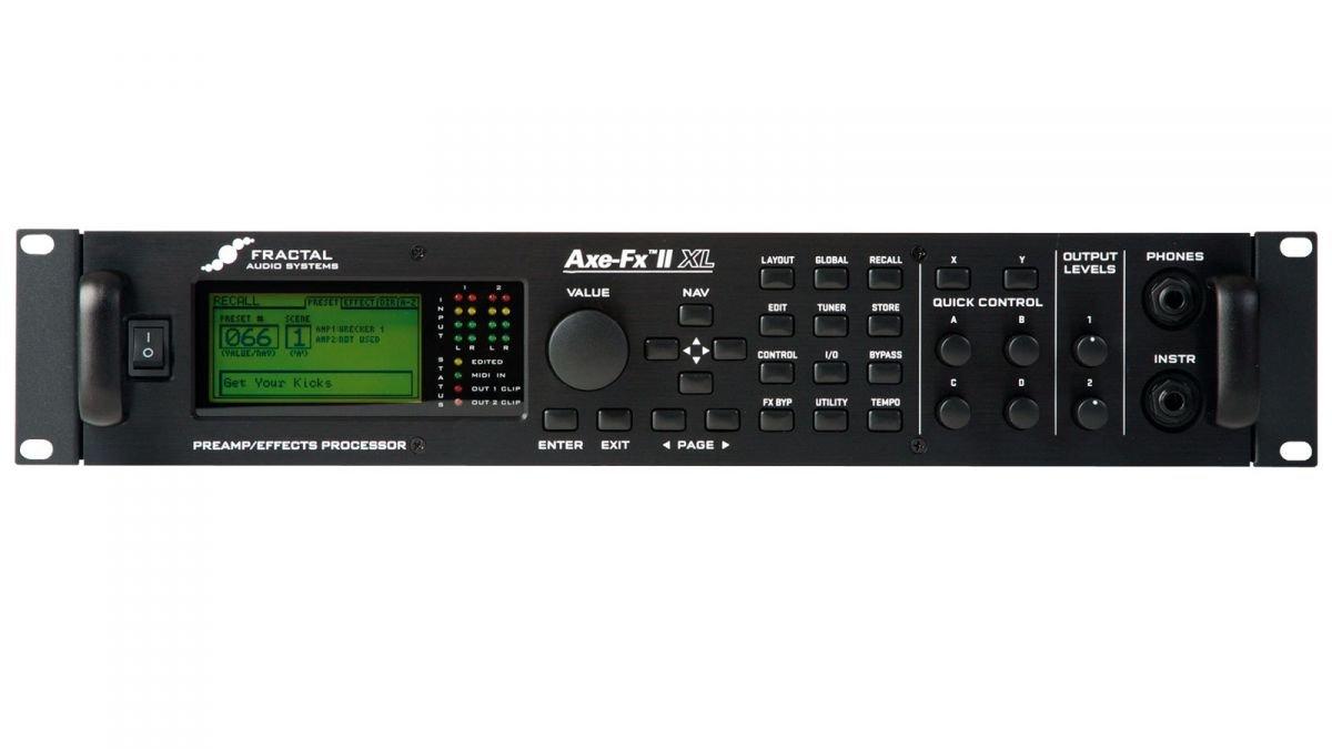 Fractal Audio Axe-Fx II XL+ Pre Amplifier-Black: Amazon in