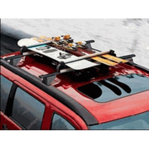 2007-2012 Jeep Compass Ski & Snowboard Carrier - Roof-Mount