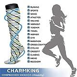 CHARMKING Compression Socks Women & Men 15-20