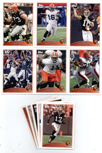 2009 Topps Cleveland Browns Football Cards Team Set-11 cards Brady Quinn,Edwards