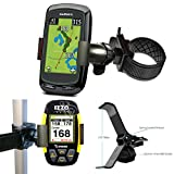 ChargerCity Strap Lock 360° Rotate Adjustment Golf Trolley Cart Pole Bar Mount for Garmin Approach G3 G5 G6 G7 G8 Golf Buddy Tour Voice World Platinum VS4 IZZO Swami SkyCaddie Touch SGX SGXW SG3.5 SG4.5 Breeze Callaway UPRO MX + Ragefinder GPS (Fits Smartphone Also)