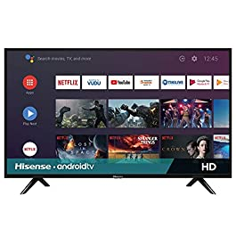 Hisense 32-Inch 32H5500F Class H55 Series Android Smart TV with Voice Remote (2020 Model)