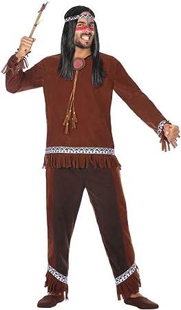 Atosa-54070 Disfraz Indio, Color marrón, M-L (54070): Amazon.es ...
