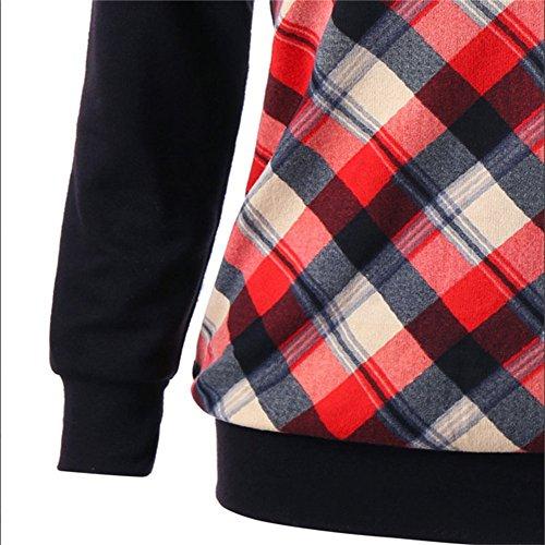 Sfit Femme T-shirt Top à Manches Longues Casual pour Printemps Automne