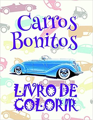 Livro De Colorir Carros Bonitos Coloring Books For Kids