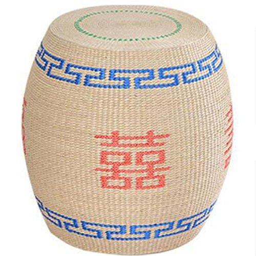 Tabouret de rangement tabouret en bois massif meubles à main tabouret ancien 100% à main