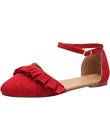 Mujer Zapatos, Womens Single Band Pointy Toe Scandals Shoes for Different Occasions Wearing