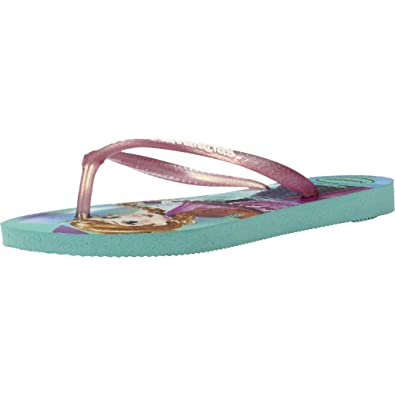 716a83293 Havaianas Girls Slim Frozen Flip Flops  Amazon.co.uk  Shoes   Bags