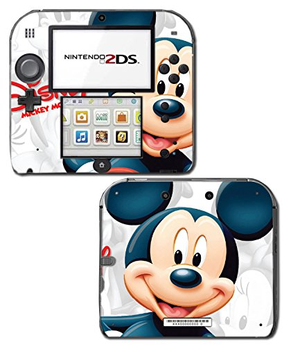 Mickey Mouse Carton Epic Kingdom Hearts 3D Video Game Vinyl Decal Skin Sticker Cover for Nintendo 2DS System (Mickey Mouse Computer Game)