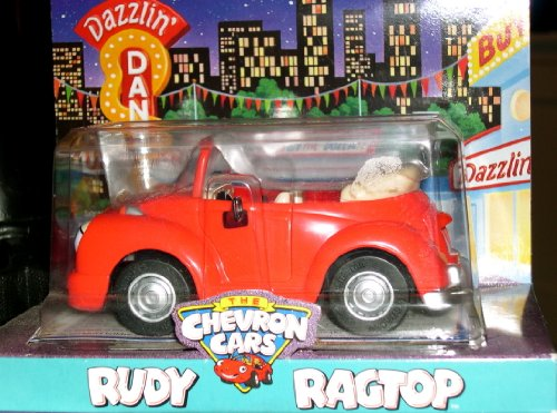 Chevron Cars - Rudy Ragtop - Chevron Toy Cars