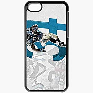Personalized iPhone 5C Cell phone Case/Cover Skin 14289 deangelo williams 3 Black