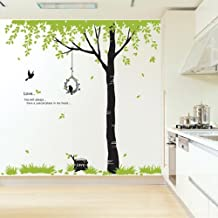Home Decor Background Shade Trees Removable PVC Wall Sticker