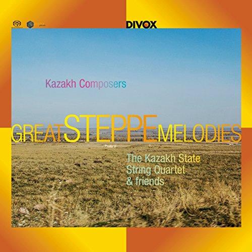 SACD : THE KAZAKH STATE STRING QUARTET - Great Steppe Melodies From Kazakh (Hybrid SACD)