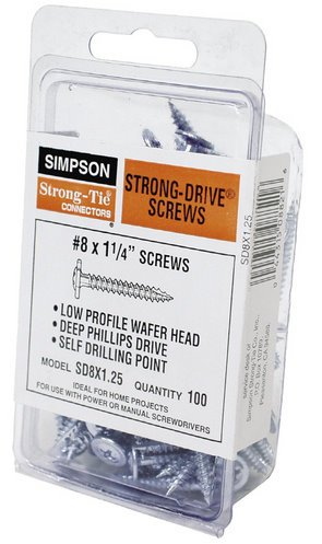 (Simpson Strong Tie SD8X1.25 #8 x 1-1/4
