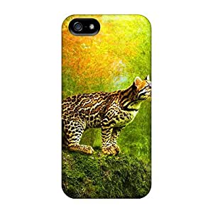 Fashion LJpgxbm2942yEUfg Case Cover For Iphone 5/5s(wild Cat)