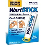 Wart Stick Solid-Stick Wart Remover Fast Acting .2 oz. (Pack of 2)