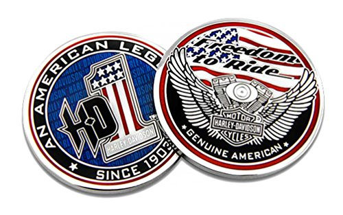 Harley-Davidson American Legend #1 Challenge Coin, 1.75 in Coin -