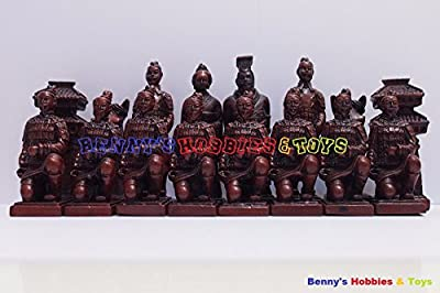 New Chinese Chess Set (Terracotta Warriors) 32 Pieces - Large Size (Chess Only)