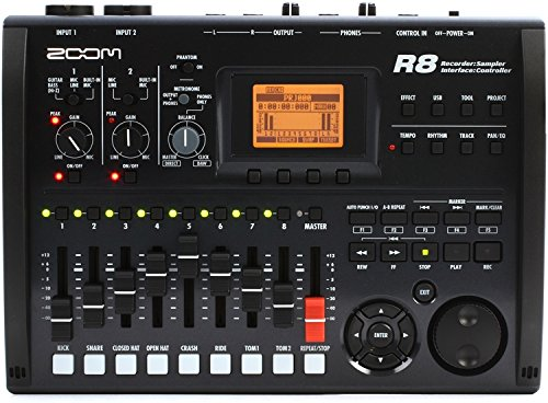Zoom R8 Multitrack SD Recorder Controller and Interface by Zoom