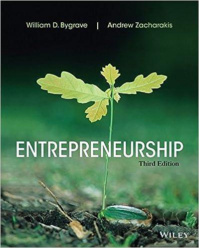 Entrepreneurship William D Bygrave