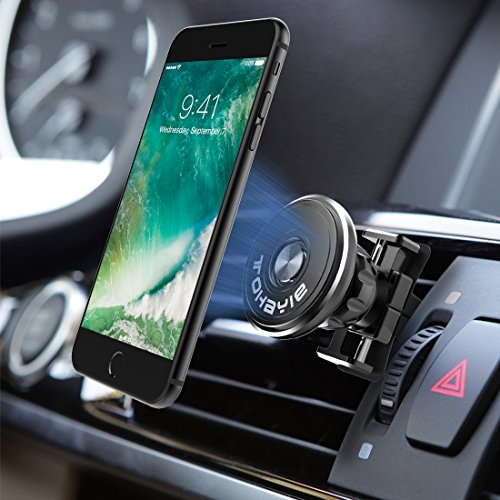 Devices Less than 2 Ib 4326588748 4 Pack Nato Magna Mount Any Cell Phones or Tablets Magnetic Car Mount Holder for iPhone X 8 7s 6s Plus 5s Samsung Galaxy S8 Edge S7 S6 Note 5 Note 4 Universal 360 Degree