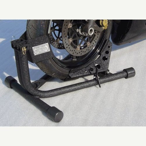 BAXLEY SPORT WHEEL CHOCK CRINKLE BLACK