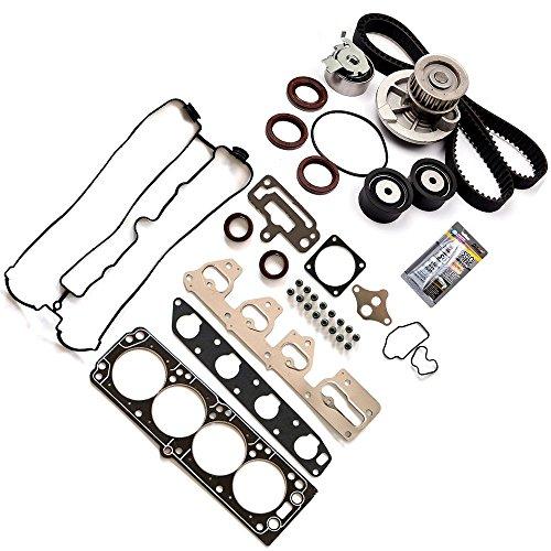 (ECCPP Timing Belt Water Pump Kit Head Gasket Sets,Automotive Replacement Parts Fits 04-07 Suzuki Reno Forenza 2.0 A20DMS L4 DOHC)